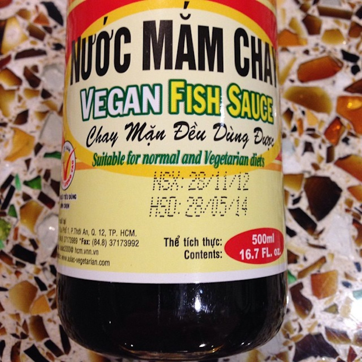 How to make vegan fish sauce chef works blog for Vegetarian fish sauce