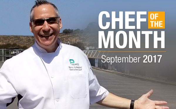 Chef of the Month: September 2017