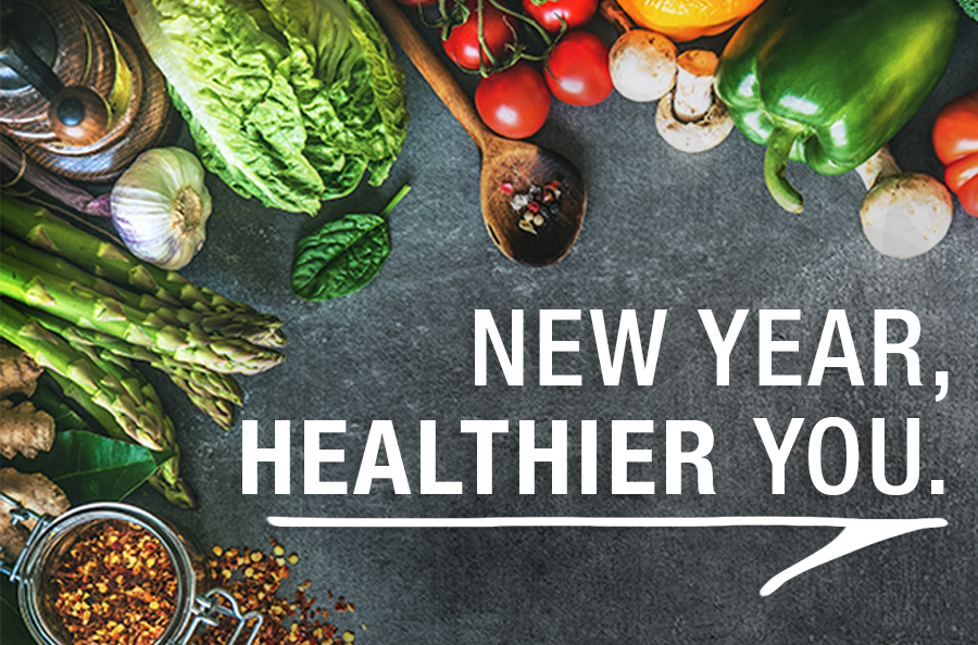 New Year: Healthier You!