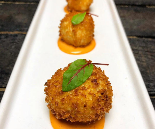 Jalapeño Cream Cheese Croquettes
