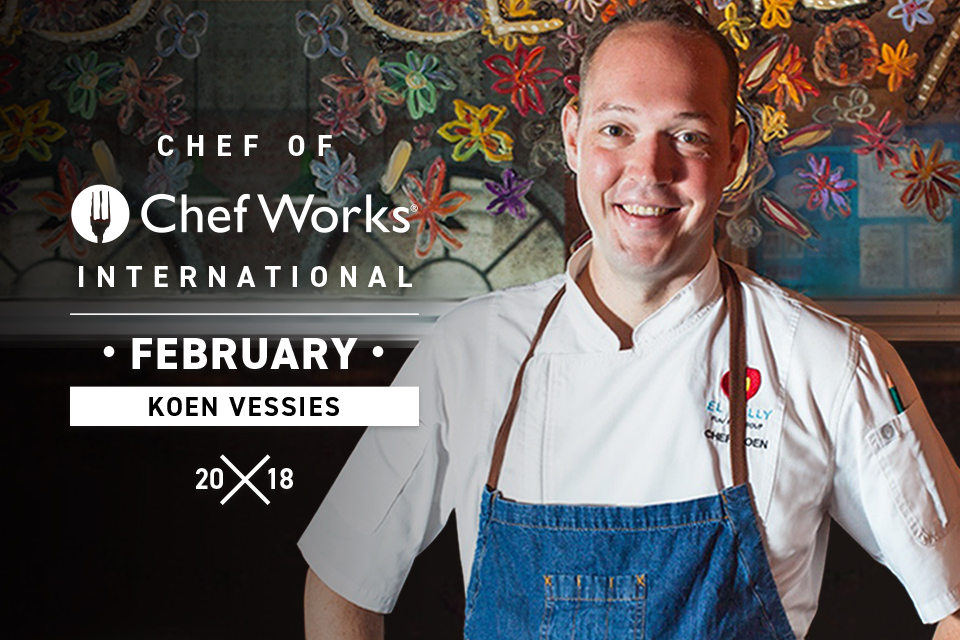 Chef of Chef Works International: Chef Koen Vessie